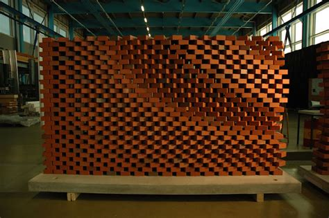 robotic wall this robotic arm by a swiss architecture firm stacks