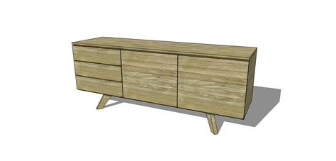 Handmade Furniture Plans - free diy furniture plans to build an mid century modern