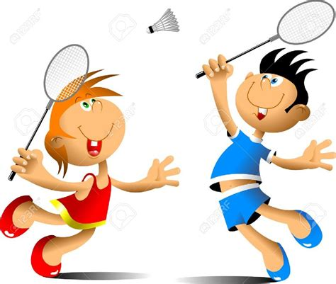 clipart badminton clipart badminton pencil and in color clipart