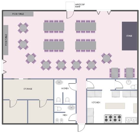 event room layout planner free function hall floor plan banquet hall plan cafe and