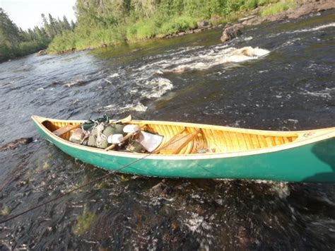 canoes made in ontario northern ontario marshall lake circuit 10 days solo
