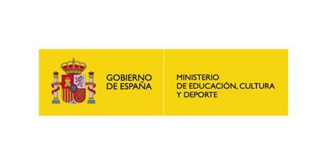 ministerio de educacin cultura y deporte portal del icaa logo vector ministerio de educaci 243 n cultura y deporte