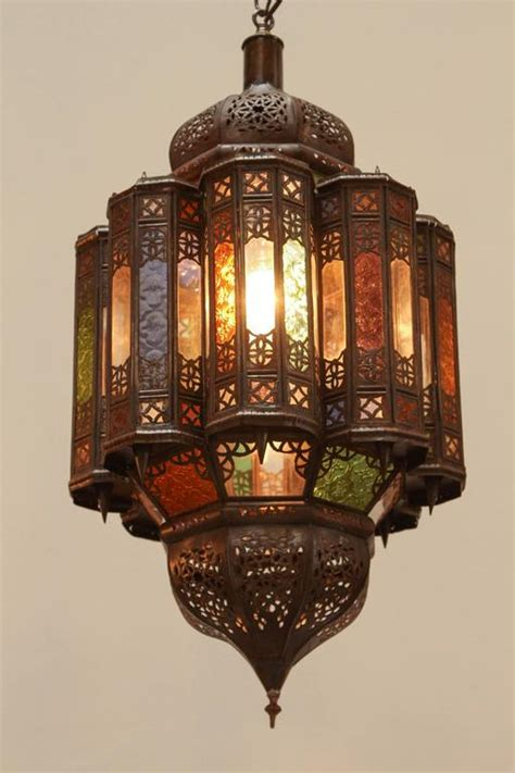 Handcrafted Light Fixtures - moroccan handcrafted mamounia light fixture for sale at