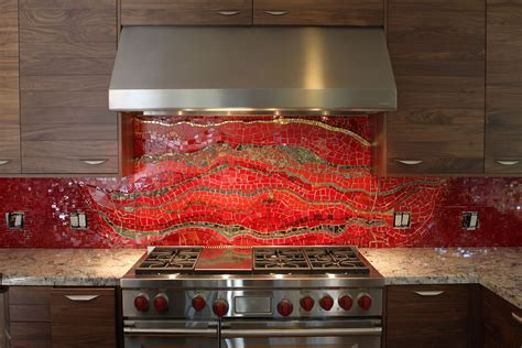 red kitchen backsplash ideas pictures of kitchen backsplash ideas from hgtv hgtv throughout kitchen backsplash red design