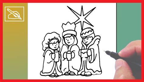 imagenes de reyes magos faciles c 243 mo dibujar a los reyes magos 2 dibujando youtube