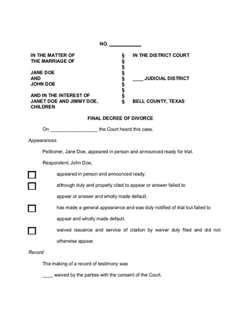 Mobile Al Divorce Records Print Divorce Papers Sle Letters Of Personal