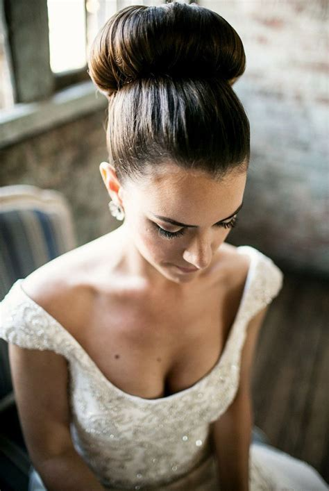 wedding day buns wedding hair beauty photos by bridal a guide to top buns wedding hairstyles onefabday com