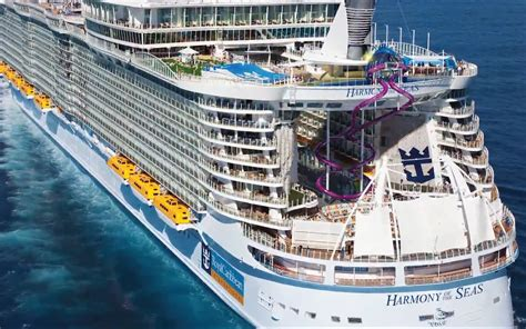 royal caribbean harmony of the seas royal caribbean reveals ultimate abyss 10 story slide