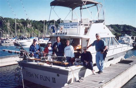fishing boat hire in whitby fish n fun charters lake ontario salmon fishing