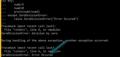 tutorial python exceptions python language tutorial exception handling part five
