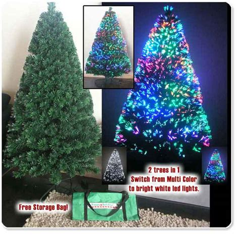 artificial christmas tree fiber optic christmas trees