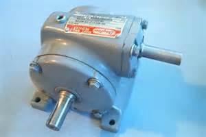 dayton indirect right angle speed reducer model 2z309