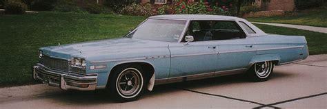 Buick Park Avenue 1975 1975 Buick Electra Limited Park Avenue General Motors