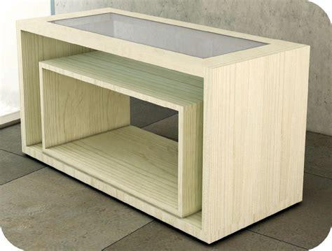 tavolo espositore tavolo di servizio doppio cubo e mostra mobile estraibile