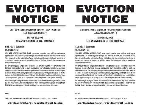 10 Best Images Of Free Louisiana Eviction Notice Template Printable Eviction Notice Form Free Louisiana Eviction Notice Template