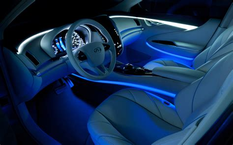 Interior Lights For Cars infiniti le concept interior with ambient lighting photo 8