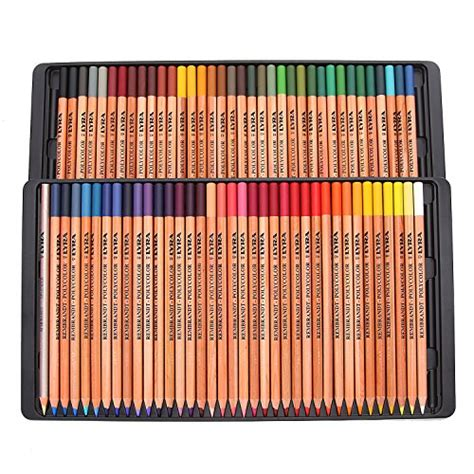 lyra colored pencils lyra rembrandt polycolor pencils set of 72 assorted