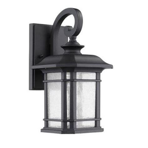 lighting franklin transitional 1 light outdoor black