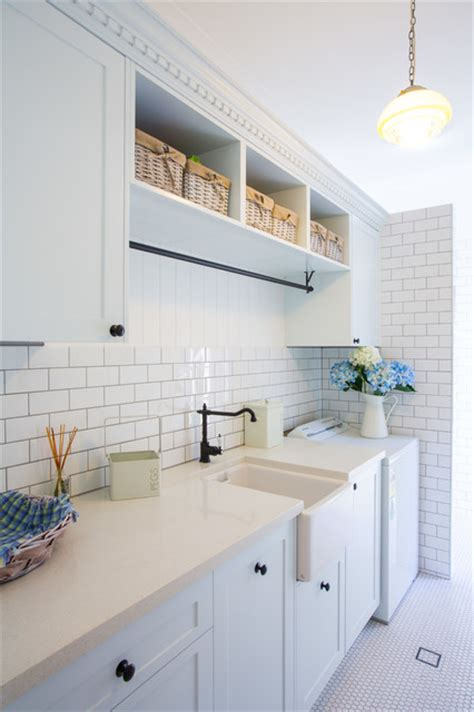 Renovating Bathroom Ideas Hampton Style Laundry Traditional Laundry Room
