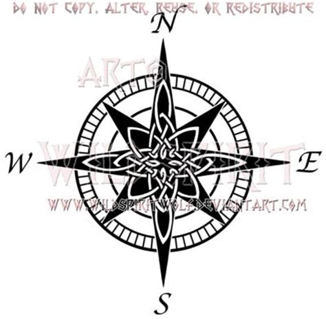 compass tattoo celtic compass tattoo design a collection of tattoos ideas to