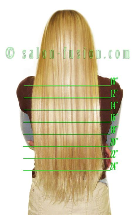 hair extension lenghts fusion hair extensions extensions and charts on