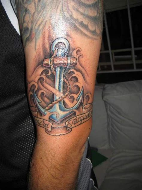 boat anchor tattoo designs 30 amazing anchor tattoos on arm