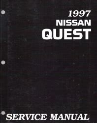 automotive repair manual 1997 nissan quest free book repair manuals service manual 1997 nissan quest owners manual free repair manuals nissan quest v40 1997