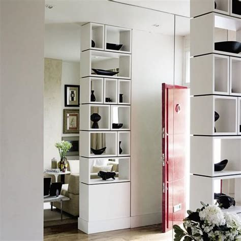 Dressing Up Kitchen Cabinets 25 room dividers with shelves improving open interior