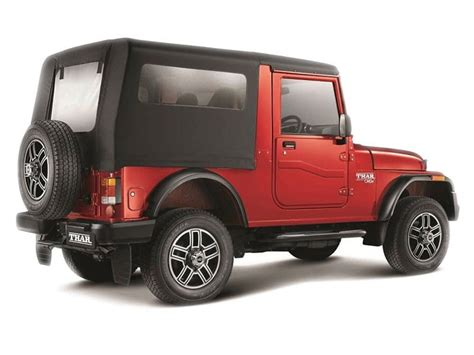 mahindra thar crde 4x4 mahindra thar crde 4x4 bs iv price specifications review
