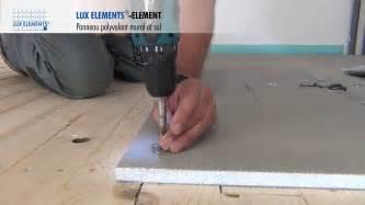 elements montage element panneau polyvalent sur