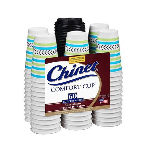 comfort cup chinet comfort cup hot cups lids 16 oz 60 ct jet com
