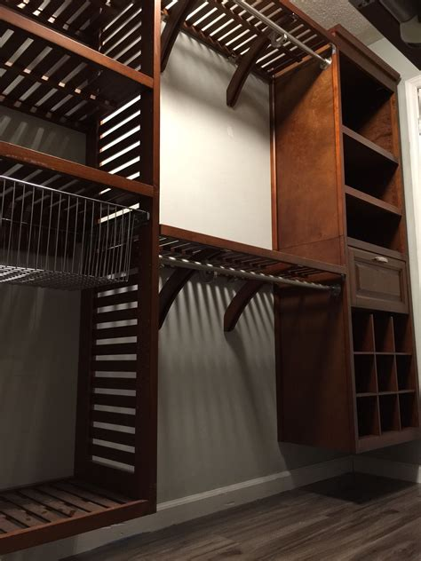 allen and roth ventilated wood tower allen roth walk in closet kit allen roth closet