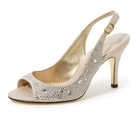 Rhinestone Wedding Shoes by Beautifully Accented Rhinestone Wedding Shoes