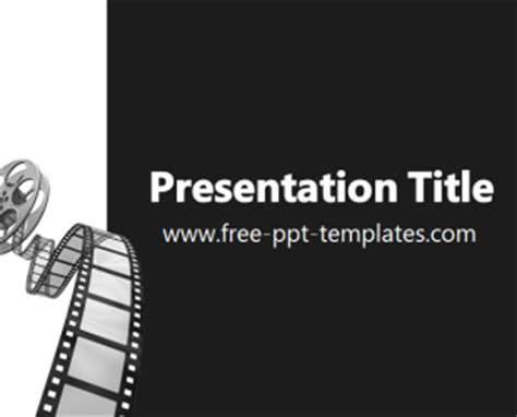 powerpoint themes movie movie ppt template free powerpoint templates