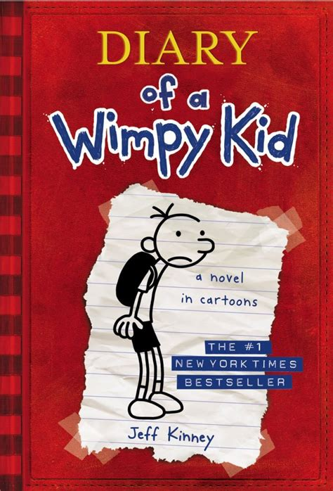 diary of a wimpy kid the third wheel author