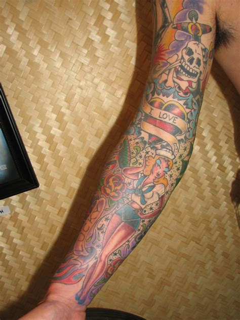 sleeve tattoo themes traditional tattoos designs ideas and meaning tattoos