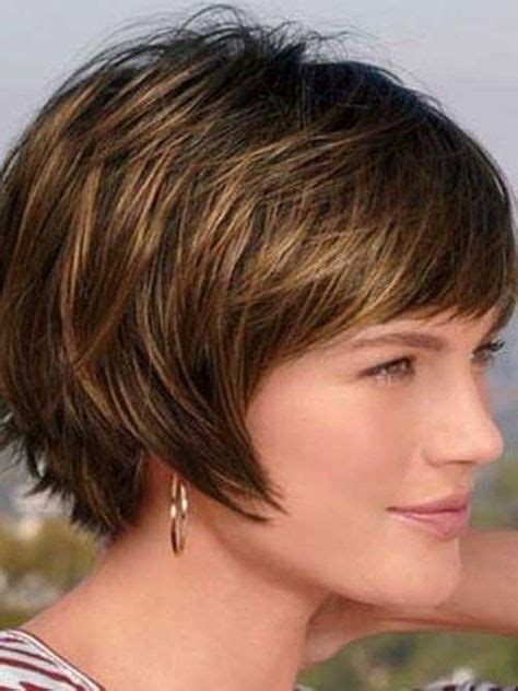 haircuts for double chins 12 short hairstyles for round faces with double chin new