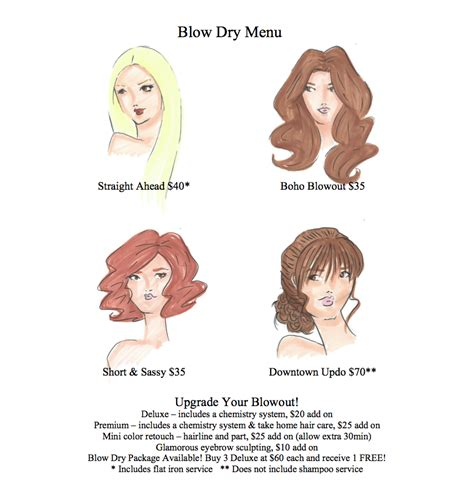 how to section your hair for blow drying blow dry archives rio hair studio