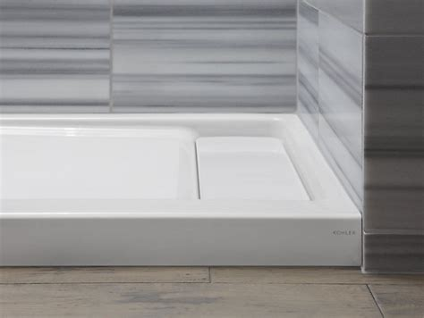 Kohler Bellwether Shower Base by Bellwether 60 X 32 Inch Shower Base Right Offset Drain