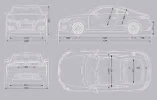 Audi Tt Dimensions Audi Tt Coup 233 Audi Uk
