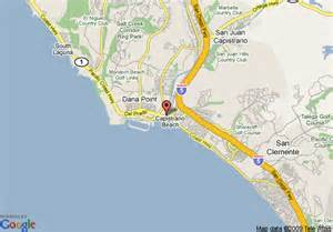 capistrano california map map of doubletree guest suites doheny capistrano