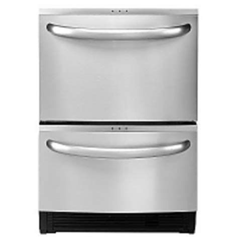 Two Drawer Dishwasher Reviews kenmore elite 24 in drawer dishwasher 13343 reviews viewpoints