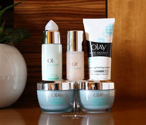 Olay Radiance new skincare routine ft olay white radiance range