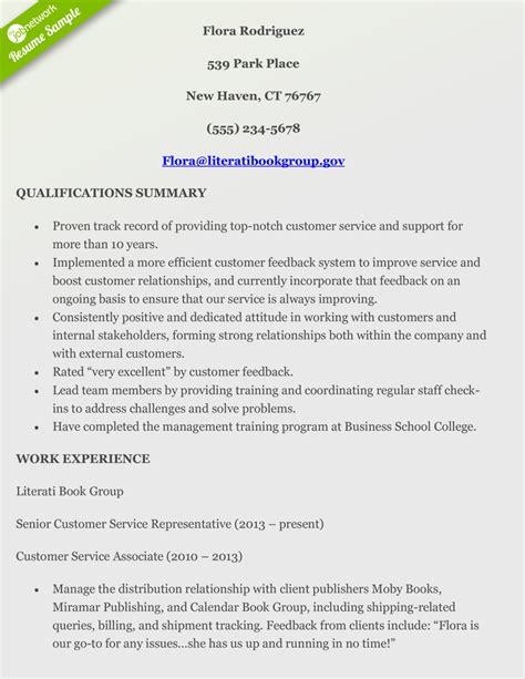 customer service resumes fresh resume summary statement examples