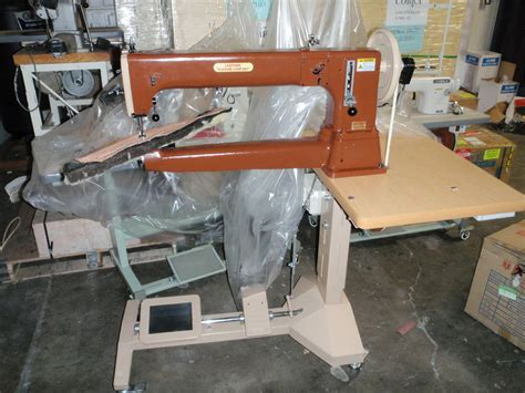 Used Upholstery Sewing Machine For Sale by Shrek Sized Leather Sewing Machine 707 507 5252 Gotquilt