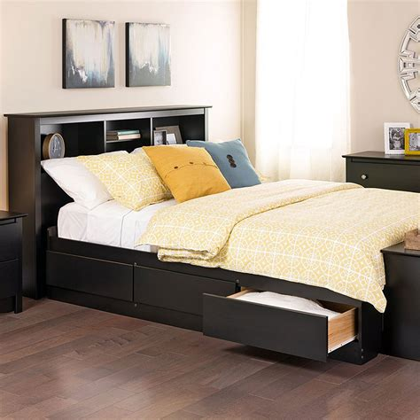 storage beds full full platform storage bed in beds and headboards