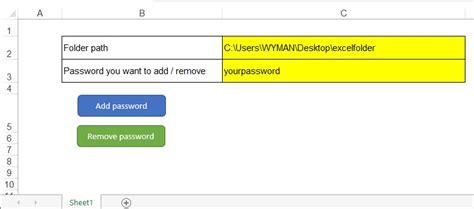 vba remove password to open excel vba password to open workbook workbooks open