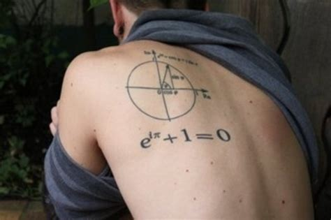 mathematical tattoos 25 geeky math tattoos for geekers