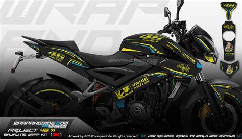 detalles de la ns 200 bajaj pulsar ns 200 limited edition wrap decal kit wrap
