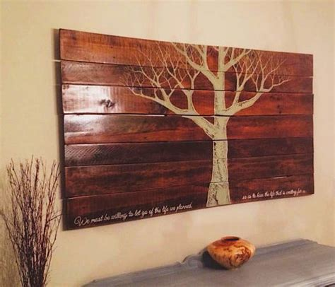 wooden wall hanging pallet furniture diy wood pallet ideas on pinterest